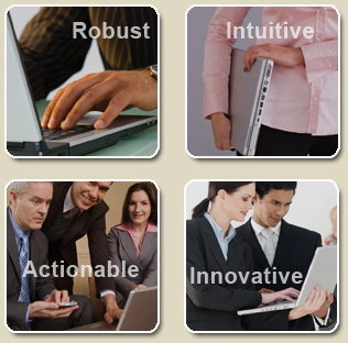 Robust, Intuitive, Actionable, Innovative
